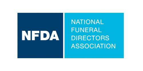National Funeral Directors Association logo.
